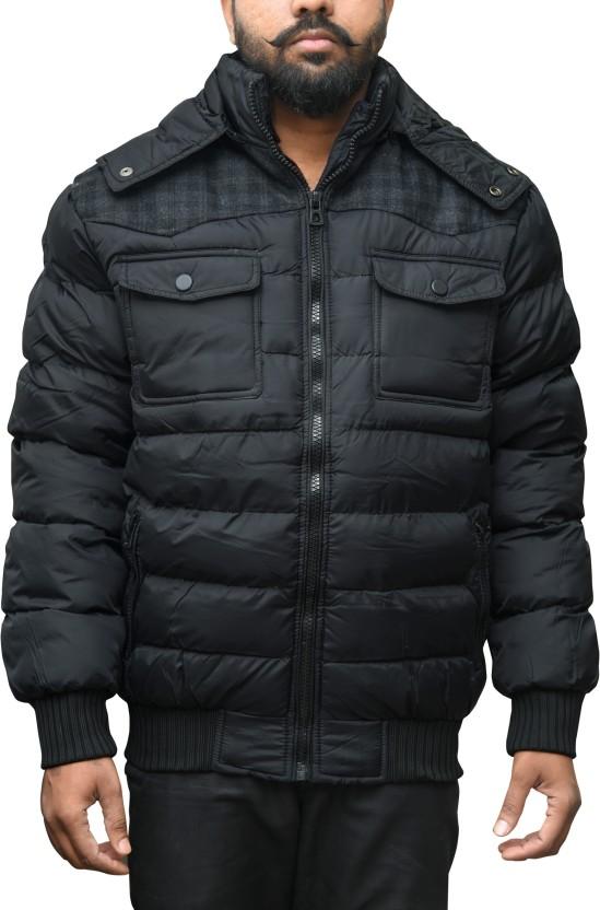 CAY Full Sleeve Self Design Men Jacket