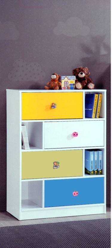 Woodness Engineered Wood Free Standing Cabinet