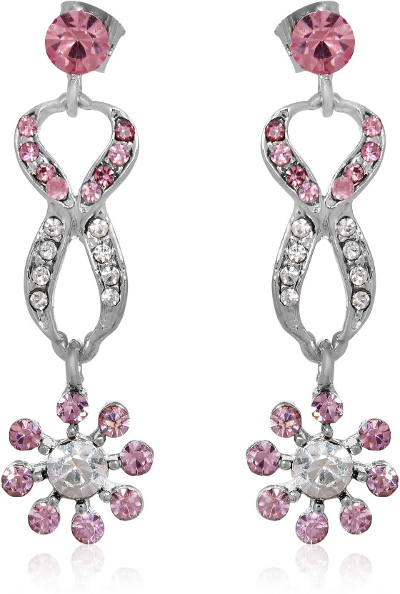 Aventus Stylish Silver/Gold (Colour Subject to availability) Plated Earrings Alloy Dangle Earring