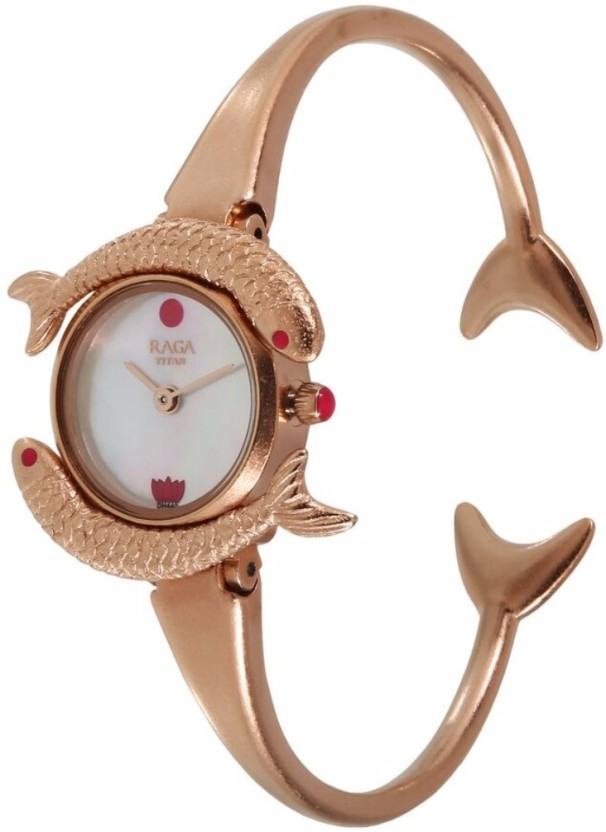 Titan 95074WM01 Masaba Watch  - For Women