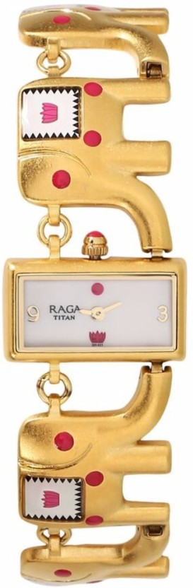 Titan 95070YM01 Masaba Watch  - For Women