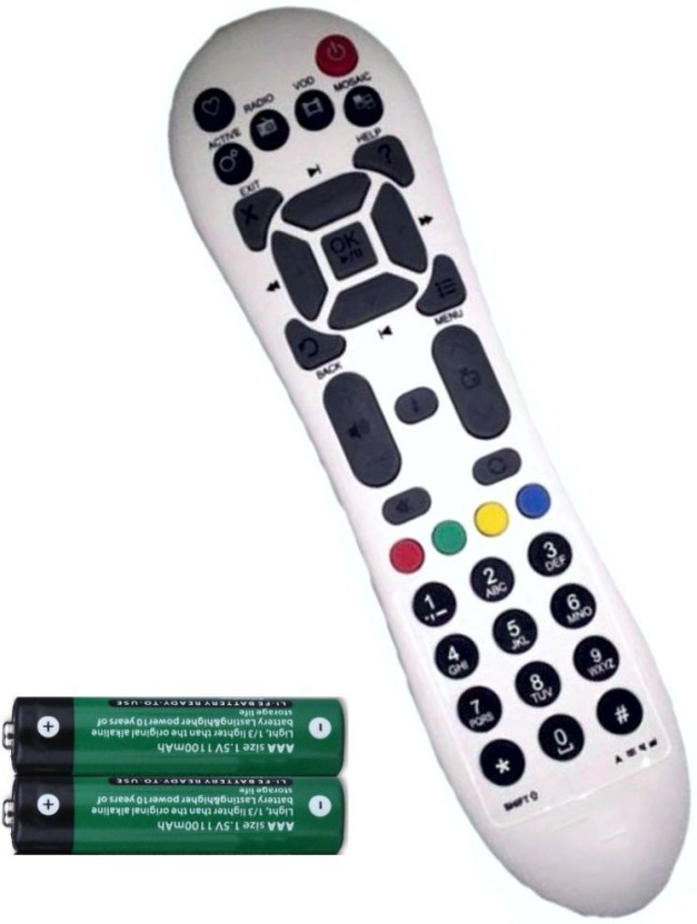 FineArts DTH Set Top Box Remote Controller with Remote Controller