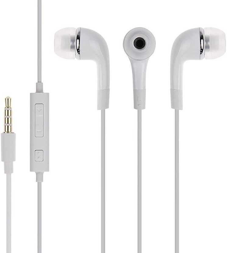 Digitalmart Top Selling Earphone for Oppo & all android & Tablet Wired Headset With Mic (White) Headphone