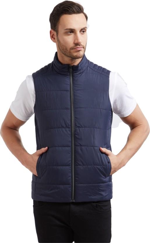 Deezeno Sleeveless Solid Men Jacket