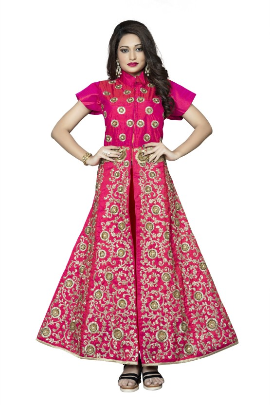 Aai shree khodiyar Embroidered, Self Design Women