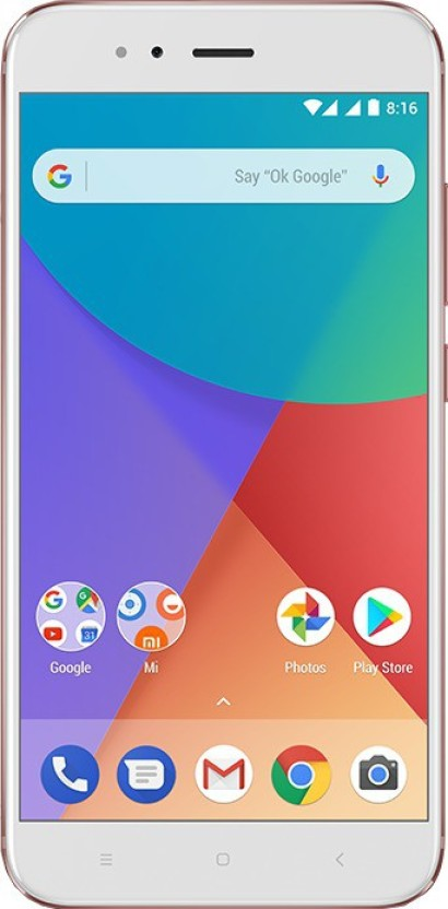 Mi A1 (Rose Gold, 64 GB)