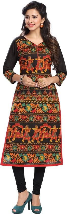 Ishin Cambric Cotton Printed Kurti Fabric