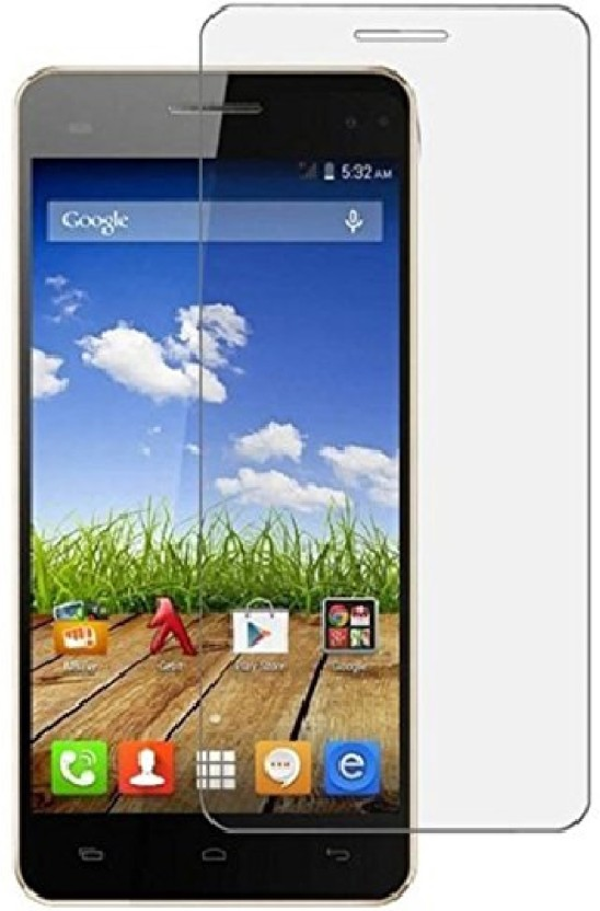 Loopee Tempered Glass Guard for Micromax Bolt A065