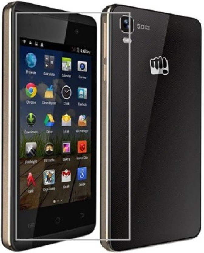 AmericHome Tempered Glass Guard for Micromax a093 fire
