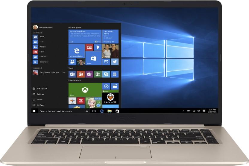 Asus VivoBook S15 Core i5 8th Gen - (8 GB/1 TB HDD/Windows 10 Home/2 GB Graphics) S510UN-BQ217T Gaming Laptop