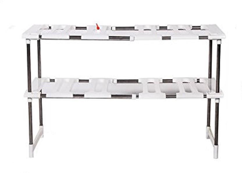 SYGA Stainless Steel, Plastic Kitchen Rack