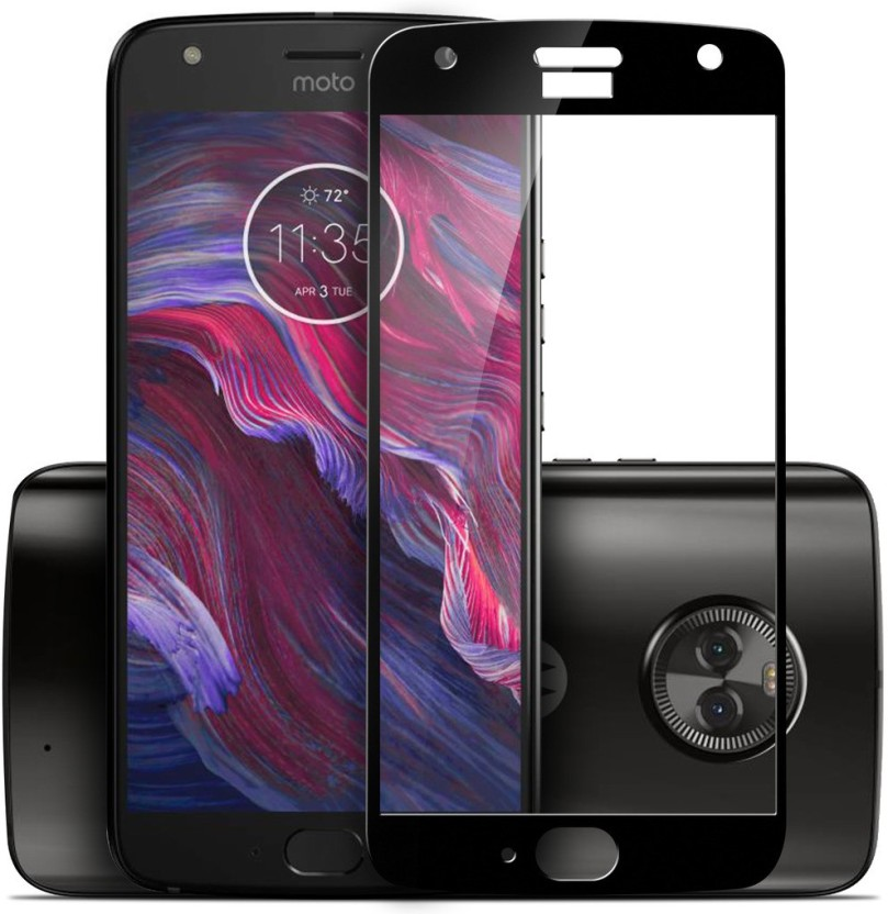 CareFone Tempered Glass Guard for Motorola Moto X4