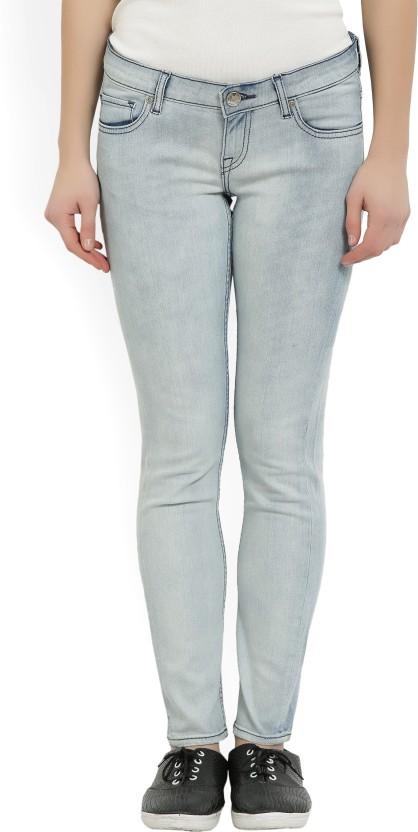 Lee Slim Women Light Blue Jeans
