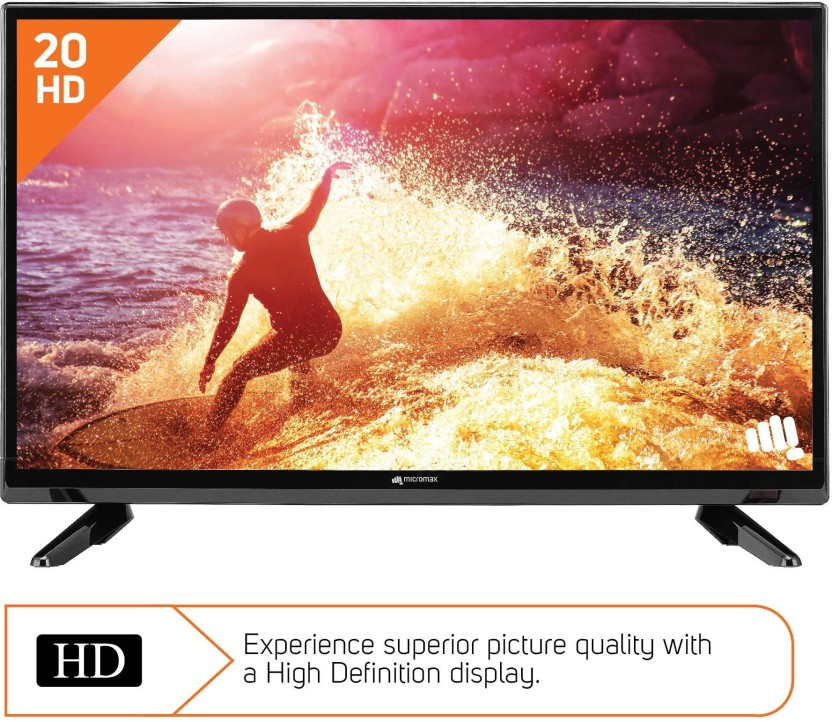 Micromax 50cm (20 inch) HD Ready LED TV