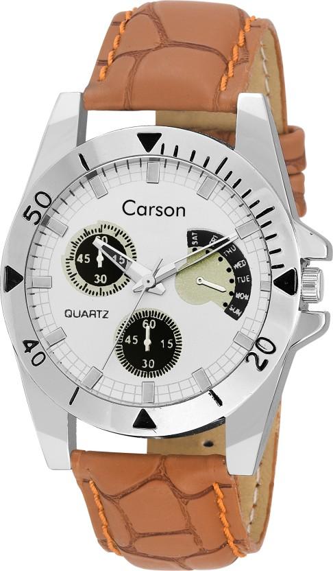 Carson CR7104 Dynamo Watch  - For Men