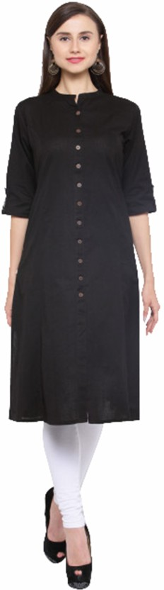 Fashionyari Solid Women Straight Kurta