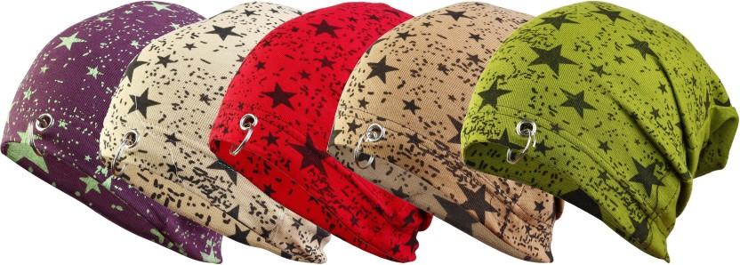 waymakers Solid, Printed, Printed, Graphic Print skull cap, winter cap, cotton cap, fashion cap, ring cap, beanie cap Cap