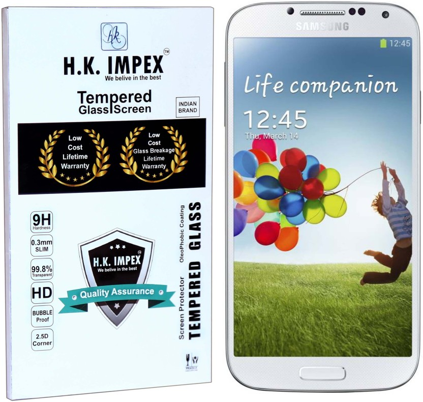 H.K.Impex Tempered Glass Guard for SAMSUNG Galaxy S4, SAMSUNG Galaxy S4