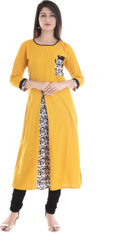 Biba Self Design Women Straight Kurta