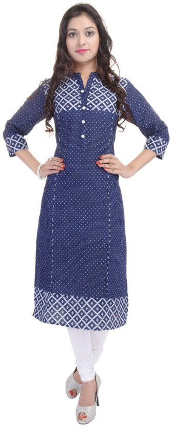 BluePocket Self Design Women Straight Kurta