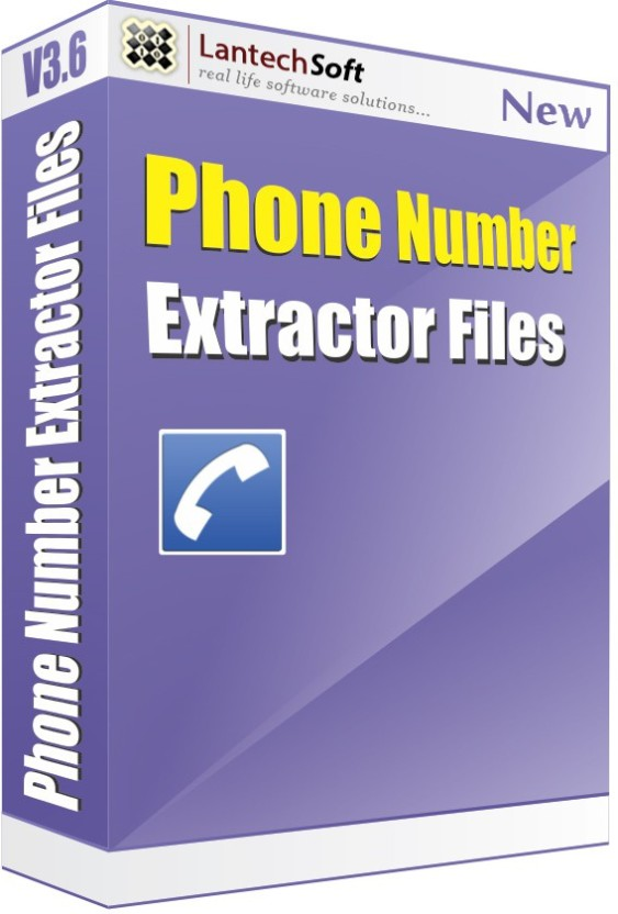 Lantech Soft Files Phone Number Extractor