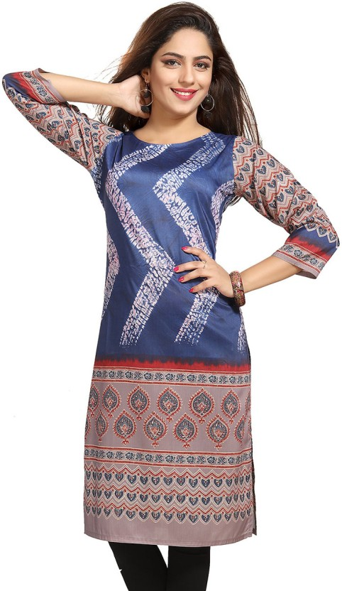 Meher Impex Printed Women A-line Kurta