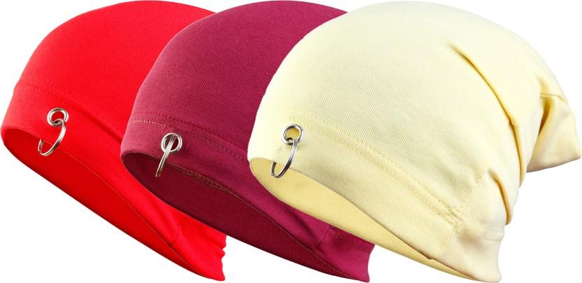 waymakers Solid skull cap, beanie cap, winter cap, fashion cap, plain cap, ring cap Cap