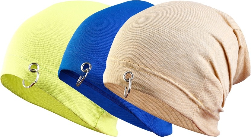 waymakers Solid, Printed, Checkered, Graphic Print skull cap, beanie cap, winter cap, fashion cap, ring cap, cotton cap, designed cap, printed cap Cap