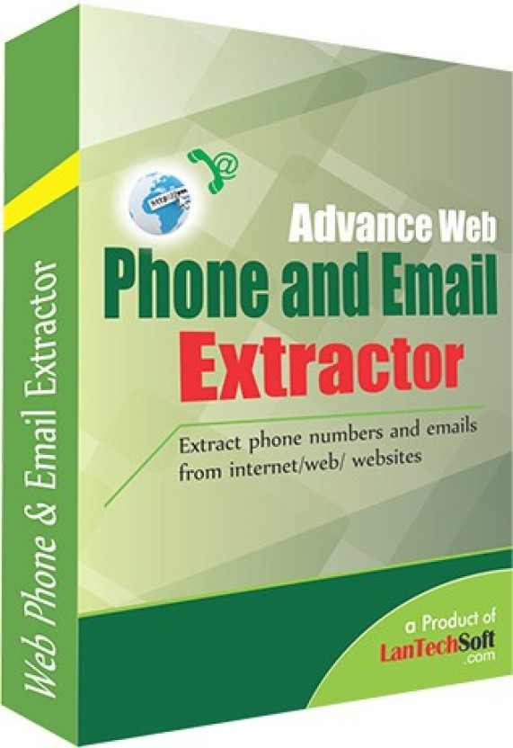 Lantech Soft Advance Web Phone and Email Extractor