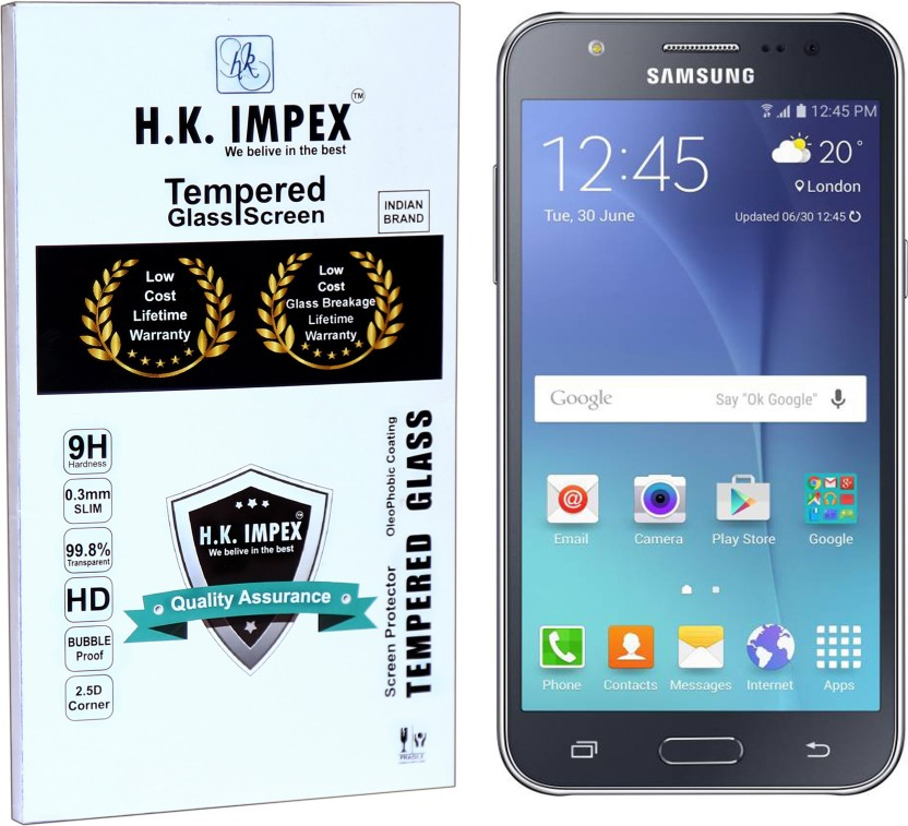 H.K.Impex Tempered Glass Guard for Samsung Galaxy On5 / On5 Pro ,samsung galaxy on5 pro, samsung galaxy on5 tempered glass in mobile screen guard (full body cover glass)