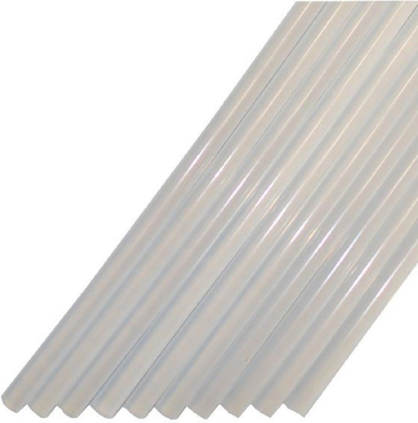 jai hanuman Ultra Clear Hot melt glue sticks 8.25 inches - 38 pieces - 800 g
