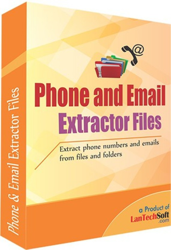 Lantech Soft Phone and Email Extractor Files