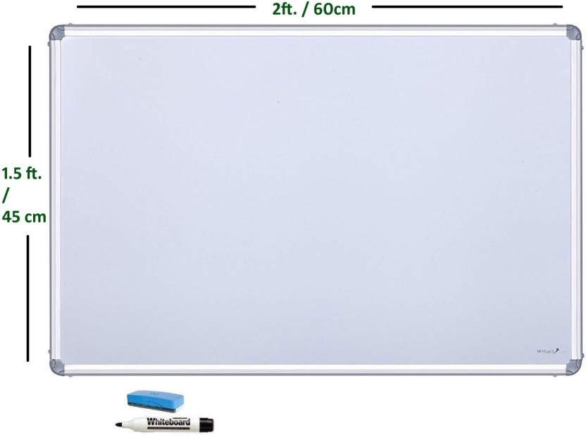 cognant Non Magnetic 1.5ft * 2ft Whiteboards and Duster Combos