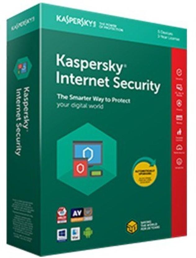 KASPERSKY Internet Security 1 Pc(1 Instalation cd ,365 days valid Serial key)