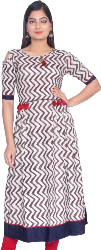 GMI Casual Striped Women Kurti