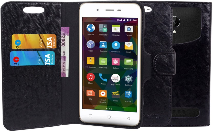 BRK Wallet Case Cover for Motorola Moto E3 Power