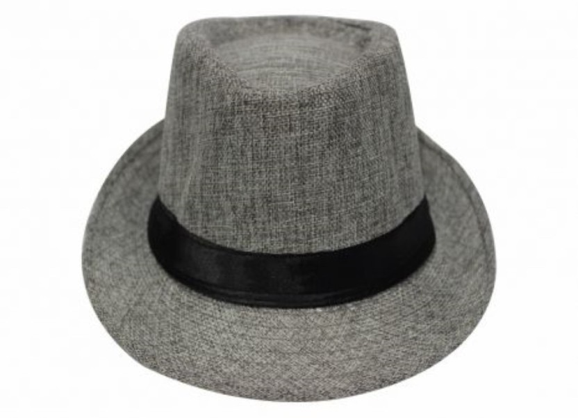 TakeInCart Solid Summer Hat With Ribban Band Cap