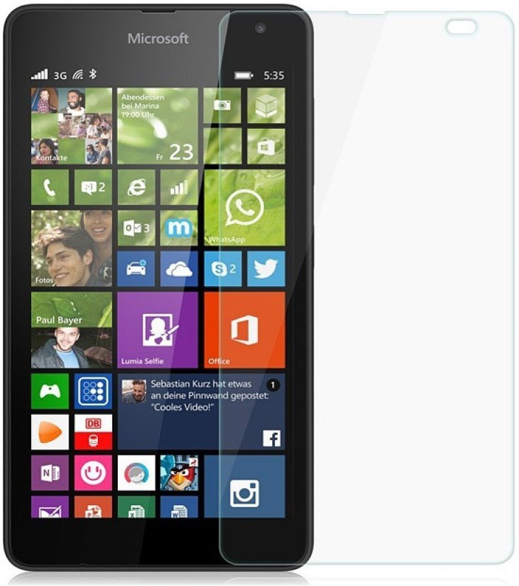 BlackBug Tempered Glass Guard for Nokia Lumia N535 SCREEN PROTECTOR,SCREEN GUARD (CLEAR HD) 0.3MM,2.5D