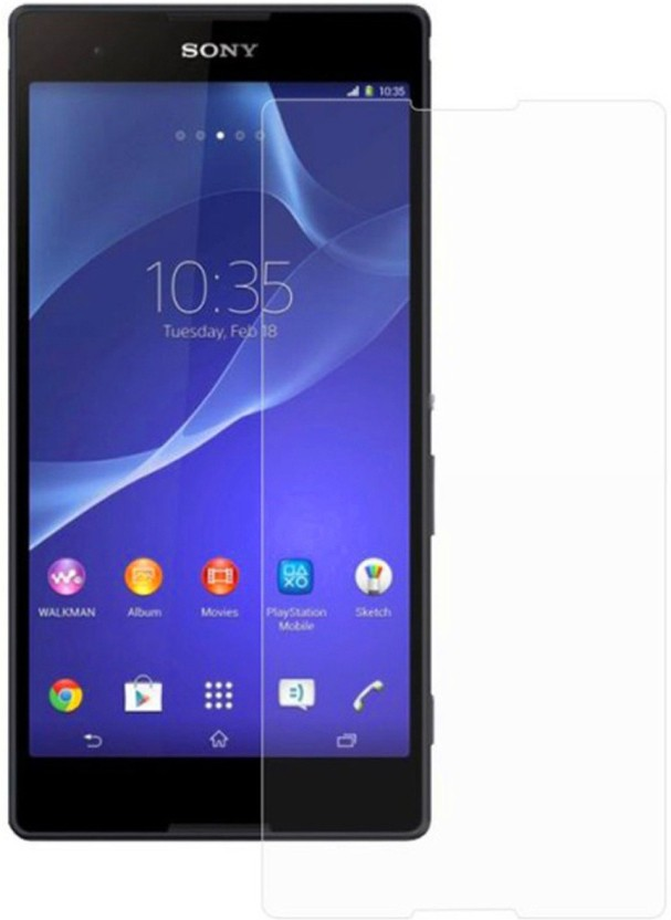 Ultra Clear Tempered Glass Guard for Sony Xperia T2 Ultra Dual