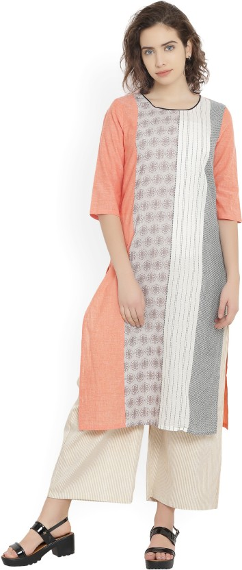 Aurelia Self Design Women Straight Kurta
