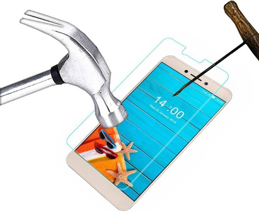 Deltakart Tempered Glass Guard for HTC One E9s Dual