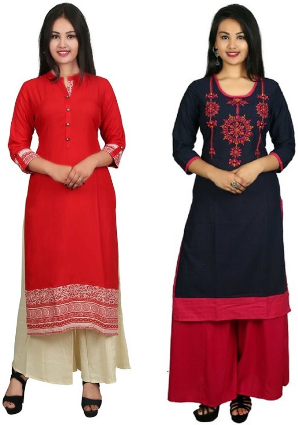 PANACHE CREATION Casual Embroidered Women