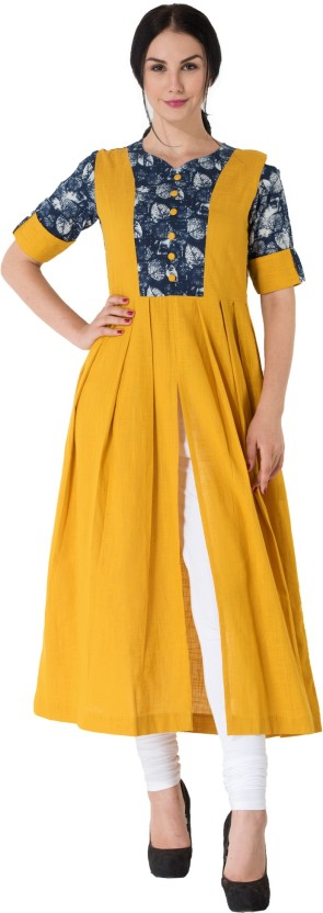 Aarti Collections Casual Printed, Self Design Women