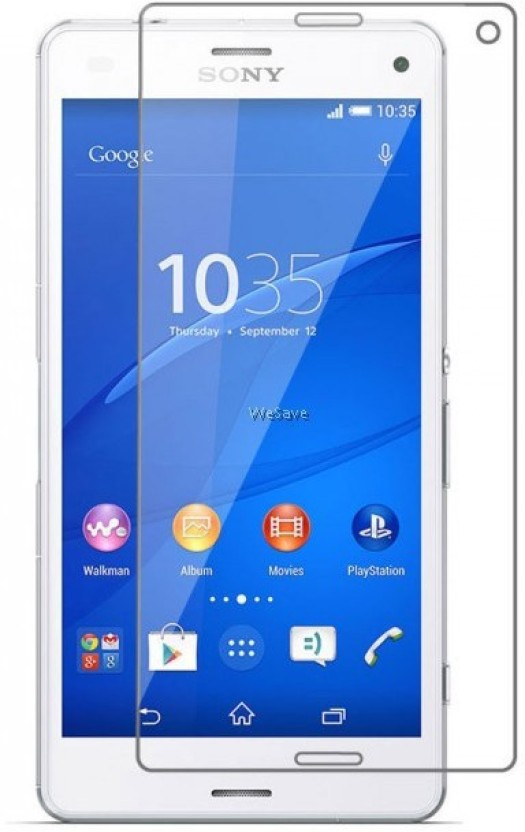 BIZBEEtech Tempered Glass Guard for Sony Xperia M2 Dual