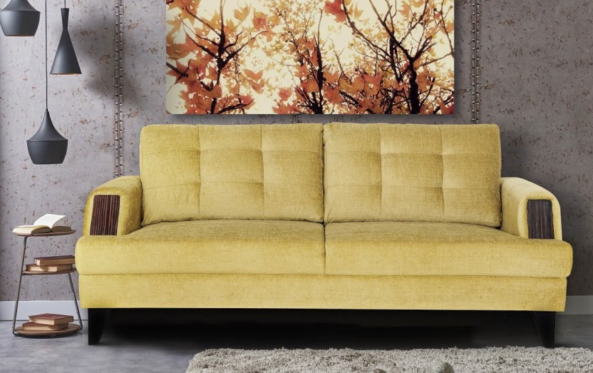 Urban Living Rome Fabric 3 Seater