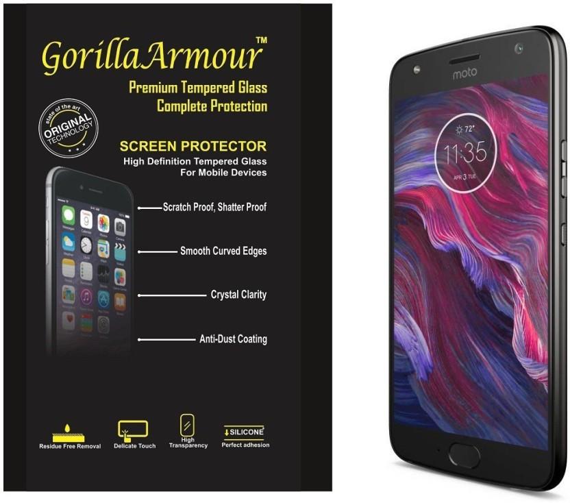 Gorilla Armour Tempered Glass Guard for Motorola Moto X4