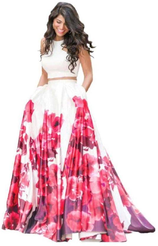 Aarya Fashion Cotton Silk Blend Printed Salwar Suit Material