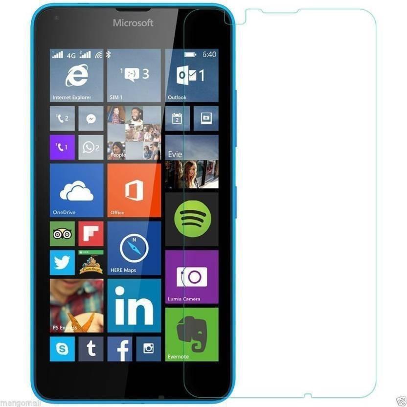 BlackBug Tempered Glass Guard for Nokia Lumia 640 XL SCREEN PROTECTOR,SCREEN GUARD (CLEAR HD) 0.3MM,2.5D