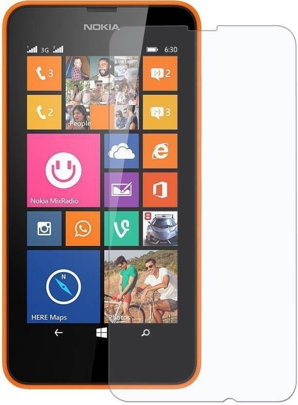 BlackBug Tempered Glass Guard for Nokia Lumia 635 SCREEN PROTECTOR,SCREEN GUARD (CLEAR HD) 0.3MM,2.5D