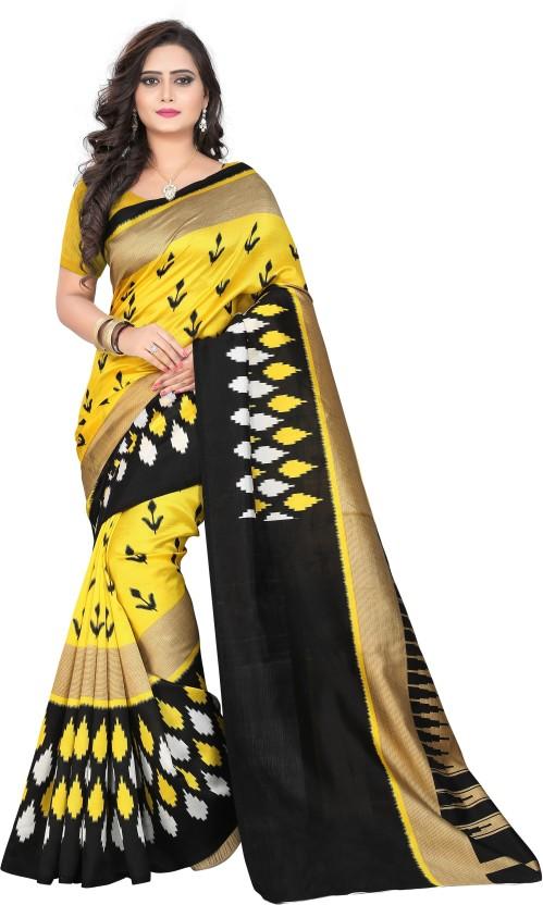 Saran Paisley Bollywood Art Silk Saree